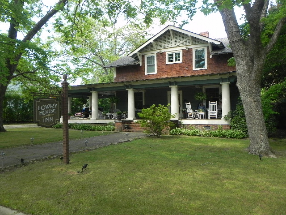 South-Carolina bed and breakfast inn for sale - The Lowry House Inn