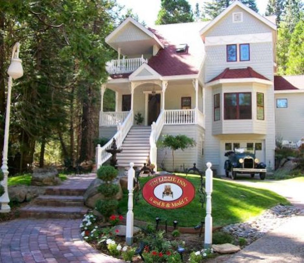 California bed and breakfast inn for sale - Tin Lizzie Inn