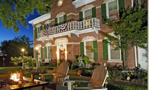Illinois bed and breakfast inn for sale - Cloran Mansion Bed and Breakfast