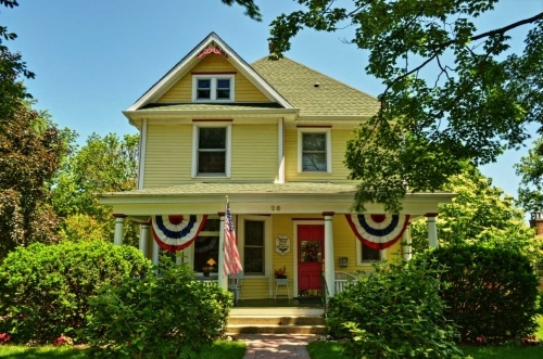 Illinois bed and breakfast inn for sale - Harrison House Bed & Breakfast