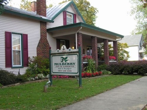Indiana bed and breakfast inn for sale - Mulberry Inn and Gardens