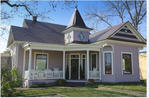 Texas bed and breakfast inn for sale - Queen Anne